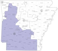 Arkansas 4th District Map Wikipedia