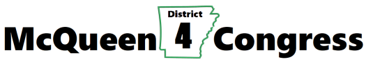 McQueen4Congress District 4 Logo