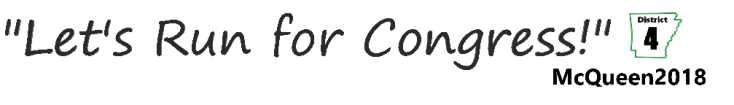 Let's Run for Congress Logo