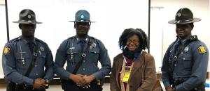 Lee McQueen & Arkansas State Policemen